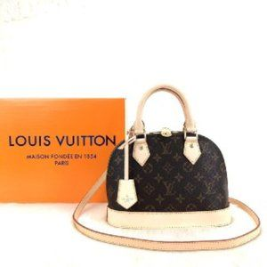 Louis vuitton Alma BB 23x17cm  Brand New
